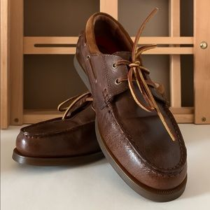 POLO RALPH LAUREN Dayne Leather Boat Shoe